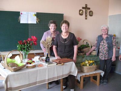 Foto zur Meldung: Senioren feierten Erntedank