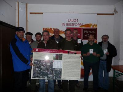 Foto zu Meldung: 3- Kastelle-Rundweg –  Markierungen und Aktionen 2010 am Welterbe Limes nehmen weiter Konturen