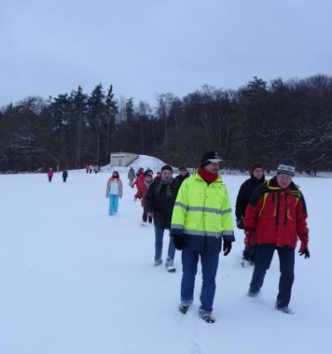 Foto zur Meldung: Winterwanderung zum Jahresanfang 2010