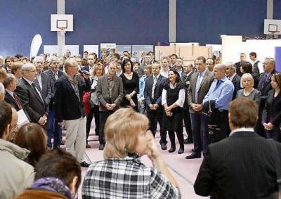 Foto zur Meldung: 61 Aussteller und 3000 Besucher bei Ausbildungsmesse in Doberlug-Kirchhain