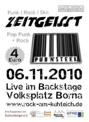 Foto zur Meldung: Live im Backstage heißt nicht umsonst im Backstage...