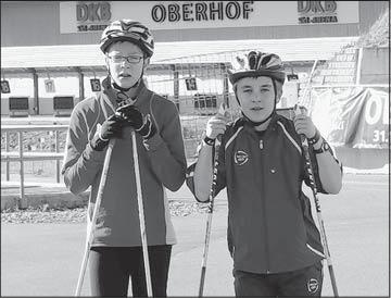 Vorschaubild zur Meldung: Zwei Harzer erkämpfen Podestplatz in DKB-Skiarena