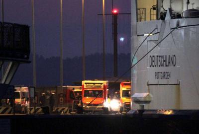 Foto zu Meldung: Fährunglück vor Fehmarn sorgt für Großalarm beim ASB Kiel