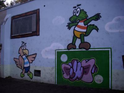 Vorschaubild : Graffiti-Art in der Grundschule Fichtenwalde