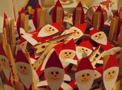 Foto zu Meldung: Viel los beim Flohmarkt und Weihnachtsbasar