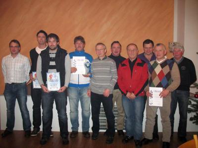 Foto zur Meldung: Jahresabschlussfeier beim Sportverein – Sportlich alle Höhen und Tiefen mitgemacht