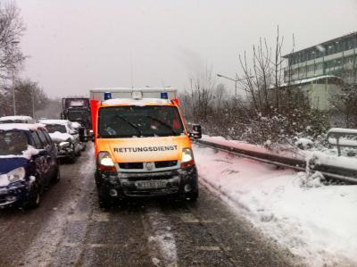 Foto zu Meldung: Schneechaos sorgte für erhöhtes Einsatzaufkommen