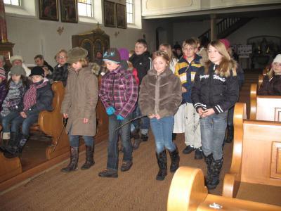 Foto zur Meldung: Zweiter Adventsonntag von den Kindern feierlich mitgestaltet