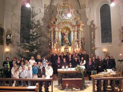 Foto zur Meldung: Festliches Adventskonzert mit jungen und reifen Interpreten