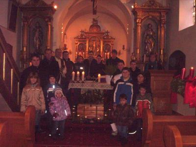 Foto zur Meldung: Den 3. Adventsonntag wieder feierlich gestaltet