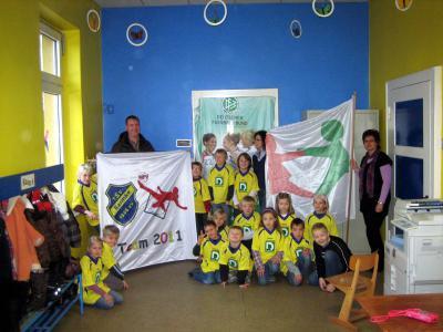 Foto zur Meldung: Kooperation Schule - Verein