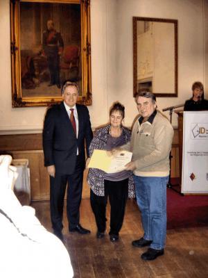 Vorschaubild zur Meldung: Urkundenverleihung am 11. Januar 2010 in Ingolstadt an unsere Bastelgruppenleiter