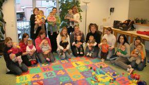Foto zu Meldung: Erstmals Krabbelgruppe beim Regionalverband Kiel