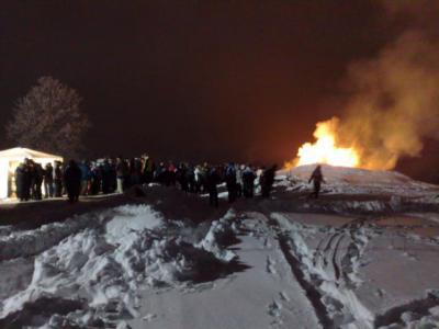 Fackelbrand auf dem Lohberg