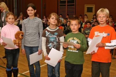 Foto zu Meldung: Vorlesewettbewerb an der Hirschfelder Grundschule