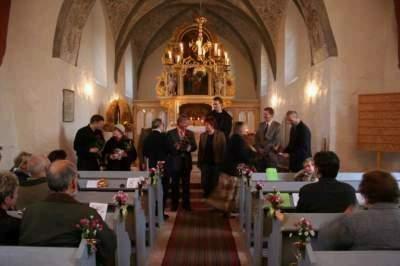 Foto zur Meldung: Orgel wieder in Dienst gestellt