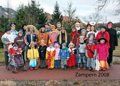 Foto zu Meldung: Zampern in Hirschfeld und Großthiemig