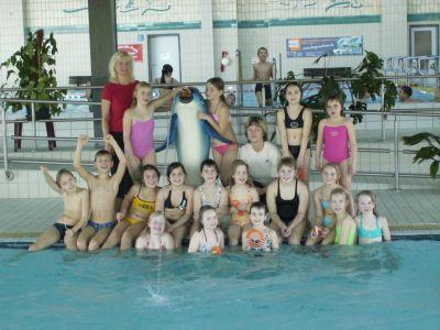 Foto zu Meldung: Schwimmlager der 3. Klasse