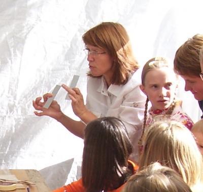 Foto zu Meldung: Die Zeitung schreibt über unsere Katechetin Martina Körner