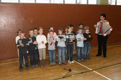 Foto zu Meldung: Tag der offenen Tür an der Grundschule Hirschfeld