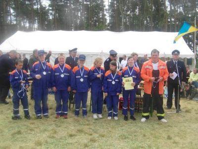 Foto zur Meldung: Kinderteam erfolgreich beim Feuerwehrausscheid