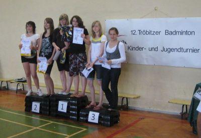 Foto zur Meldung: 12. Badminton Kinder- und Jugendturnier war voller Erfolg