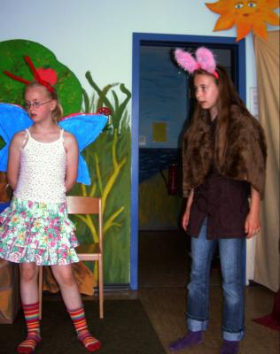 Foto zur Meldung: Theater in der Schule