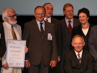 Foto zur Meldung: Bündnispreis zum Botschafter für Demokratie und Toleranz