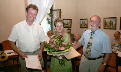 Foto zur Meldung: Erika Specht zur neuen Ortsbürgermeisterin der Ortschaft Büden ernannt