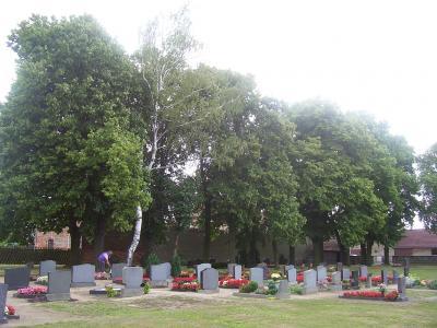 Foto zur Meldung: Rasenreihengräber auf den Friedhöfen