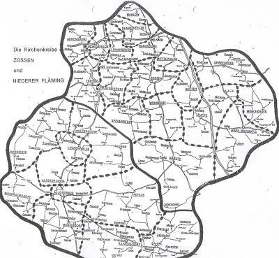 Foto zu Meldung: Zum 1. September fusionieren die Evangelischen Kirchenkreise Niederer-Fläming und Zossen