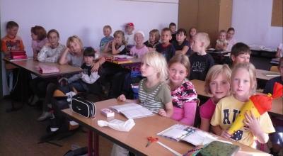 Foto zur Meldung: Toller 1. Schultag