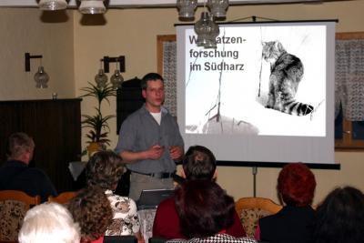 Foto zu Meldung: Wildkatzenforschung im Südharz