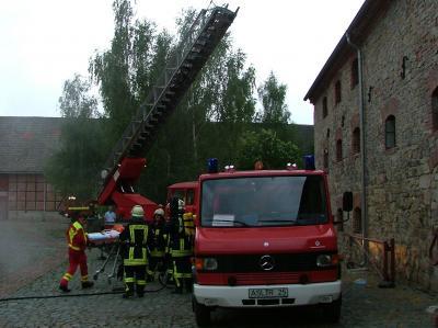 Foto zur Meldung: Wochenendausbildung 2008 im Ortsteil Reinstedt