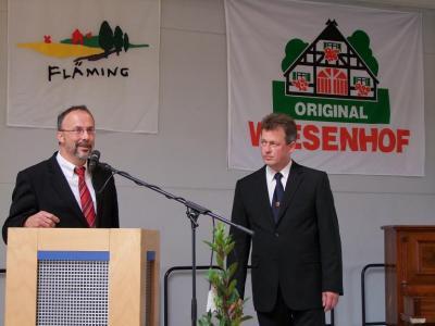 Foto zur Meldung: 9. Broilerfest in der Stadthalle Möckern