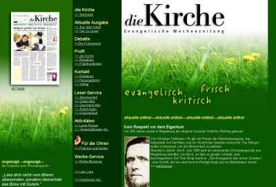 Foto zur Meldung: Die Kirche - Wochenzeitung berichtet über die Radfahrerkirche in Borgisdorf