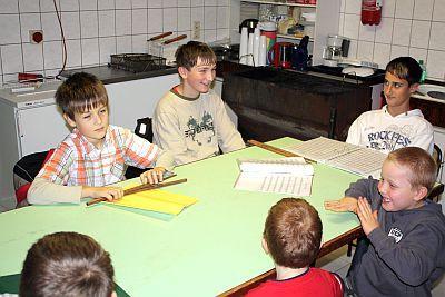 Foto zur Meldung: Nachwuchs-Spielmannszug wurde am 7.November erfolgreich ins Leben gerufen