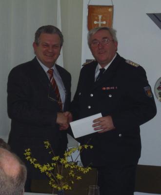 Foto zu Meldung: Wiederwahl des Gemeindewehrführers