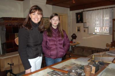 Foto zur Meldung: Carl Anwandters Nachkommen besuchen Calau