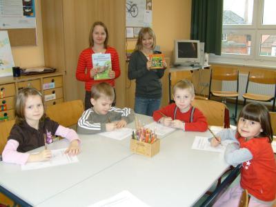 Foto zur Meldung: Zu Besuch in der Elbtalgrundschule