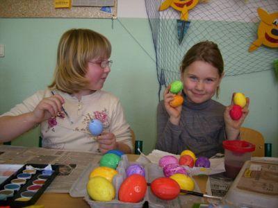 Foto zu Meldung: Osterwerkstatt der Klasse 2