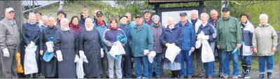 Foto zu Meldung: Harzklub aktiv: Wald von Müll befreit