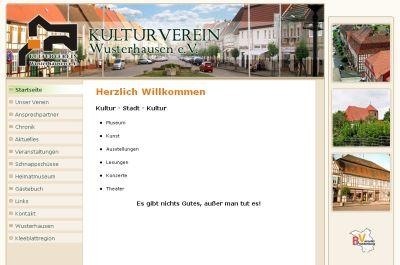 Foto zur Meldung: Kulturverein Wusterhausen mit neuer Internetpräsenz und neuem Vorstand