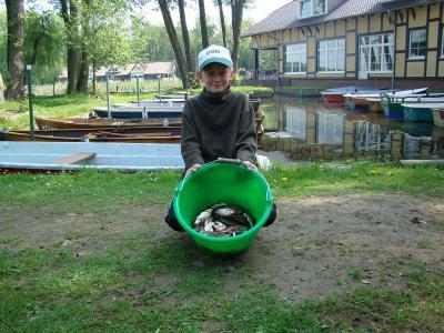 Foto zur Meldung: Erstes Hegefischen der Saison