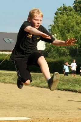 Foto zu Meldung: Sportfest der Grundschule Hirschfeld