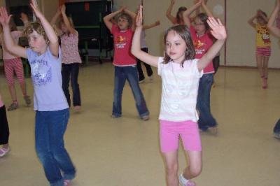 Foto zur Meldung: Tanzen mit dem Weltmeister