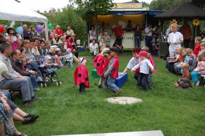 Foto zur Meldung: 15.Sommersonnenblumenfest in der Natur-Kita Werchow