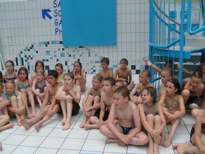 Foto zur Meldung: Schwimmlehrgang der 3. Klassen
