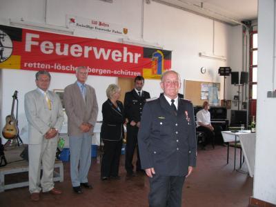 Foto zu Meldung: Verabschiedung Kamerad Horst Schumacher