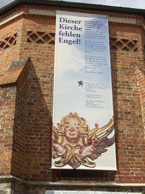 Foto zur Meldung: Dieser Kirche fehlen Engel